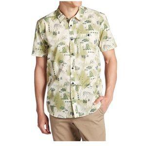 Patagonia Short Sleeves Button Down Medium Shirt